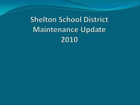 1. Maintenance Alignment with District 's Mission and Board and Superintendent's Goal 2. Impacts of recent budget reductions 3. Review Energy Grant 4.