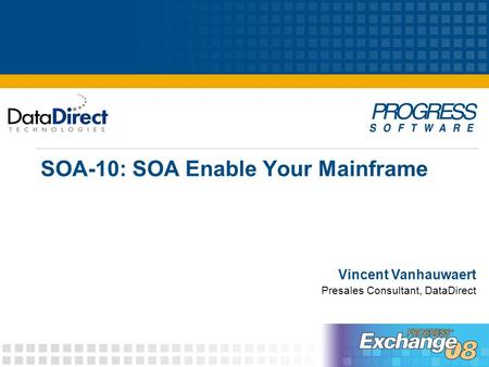 SOA-10: SOA Enable Your Mainframe