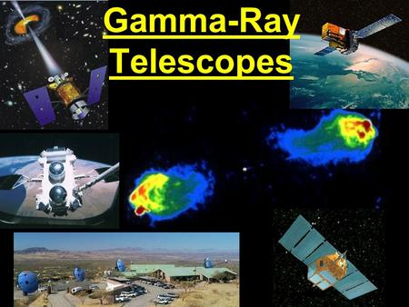 Gamma-Ray Telescopes. Brief History of Gamma Ray Astronomy 1961 EXPLORER-II: First detection of high-energy  -rays from space 1967 VELA satelllites: