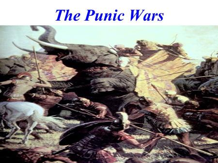 The Punic Wars. Prior to the Punic Wars, Rome battled with its neighbors to expand. Greece had many colonies in southern Italy which was known as Magna.