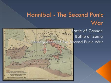  216 BC: Hannibal attacked Roman supply lines  Gauis Terrentius Varro was elected consul  Found Hannibal at the Audifus River  Hannibal declared for.