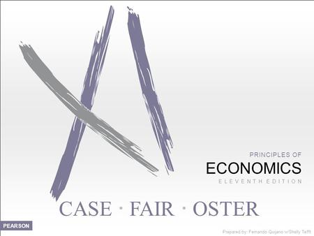 CASE  FAIR  OSTER ECONOMICS PRINCIPLES OF