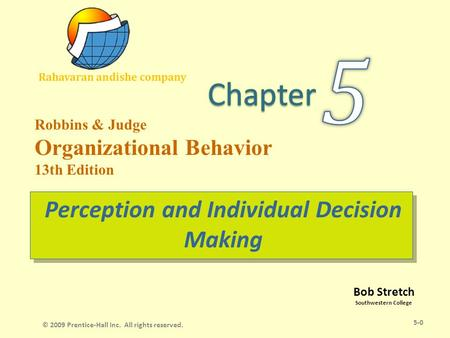 Perception and Its Influence on Individual Behaviour