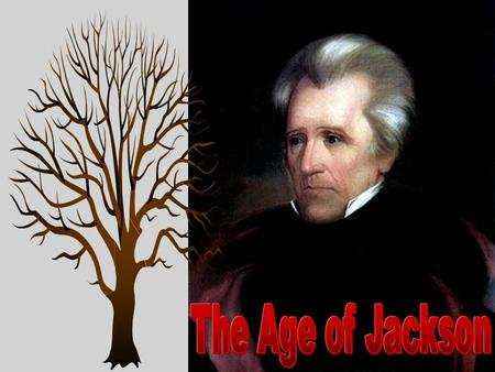 Old Hickory Jackson was nicknamed Old Hickory because of his toughness and aggressive personality; he fought in duels, some fatal to his opponents.