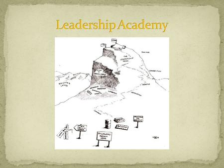 The Leadership Academy is a place where leaders, and those in leadership positions, can learn the latest thinking in educational leadership from some.