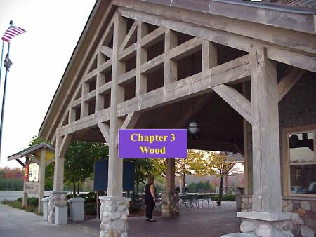 Chapter 3 Wood. Qualities of Wood THE MATERIAL WOOD IS: StrongLight Easily handled, worked, & shaped Fastened quickly & economically RecyclableBiodegradable.