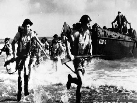 What is the content of the picture? Read the three Passages about the D-Day landings and answer the questions. 1.Where do you think the first.