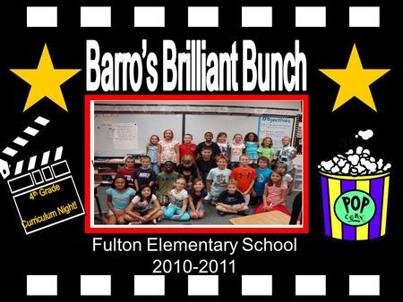 Fulton Elementary School 2010-2011 Wep class pic goes here.