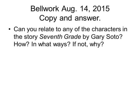 an analysis of gary sotos story the pie Gary sotos the pie text reading of the story chapter summaries & analysis, characters, objects/places, themes, style, quotes.