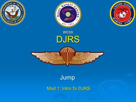 Djrs dive jump reporting system ppt download - Dive jump reporting system ...