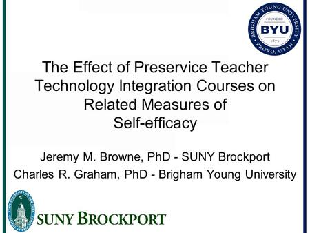 what is the efficacy of integration Retrospective theses and dissertations 1998 faculty computer self-efficacy and integration of electronic communication in teaching college courses.