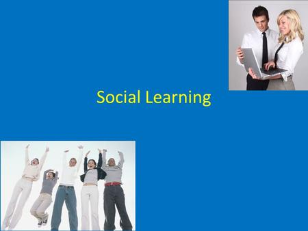 Social Learning. Social Learning Theory: This theory, made famous by Albert Bandura, states that social behavior (any type of behavior that we display.
