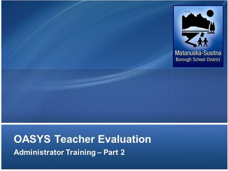 OASYS Teacher Evaluation