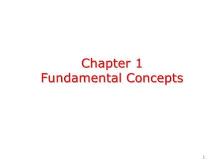 1 Chapter 1 Fundamental Concepts. 2 signalpattern of variation of a physical quantity,A signal is a pattern of variation of a physical quantity, often.