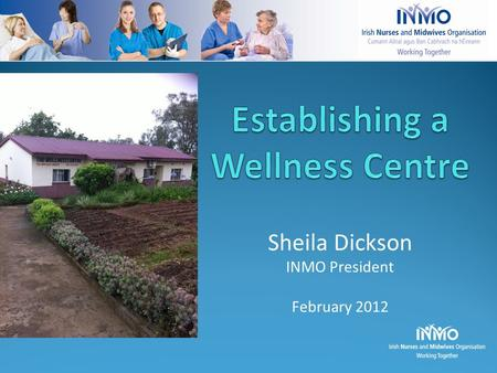 Sheila Dickson INMO President February 2012. Where? – Ethiopia For Whom? – Health Care Workers & Families How? – Partnership With Whom? – Nursing Association,