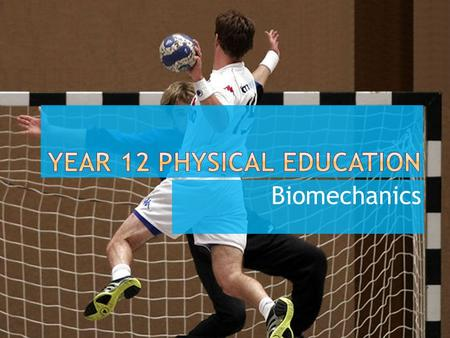 Biomechanics.  The study of forces and their effects on the human body.
