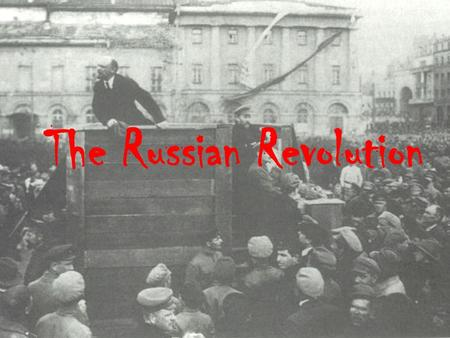 The Russian Revolution. Russian Imperial Flag Russian Expansion A heterogeneous empire.