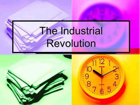 The Industrial Revolution. What Makes the Industrial Revolution Different? Other civilizations massively embraced technological solutions to social and.