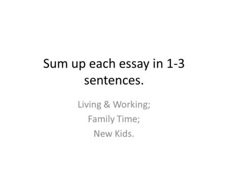 1119 english essay