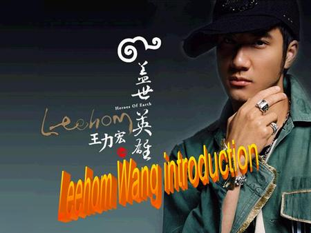 Background information Lee-Hom Wang Birth name Alexander Wang Li Hong Also known as Alexander Wang Lee Hom Born May 17, 1976 (age 30) Origin Rochester,