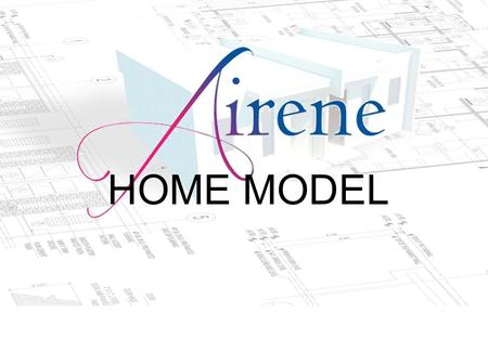 HOME MODEL. P e r s p e c t i v e HOME MODEL 4.00m X 5.50m Floor Area = 22 sqm. Turn-over unit 4.00m 5.50m 1.4m 4.00m.