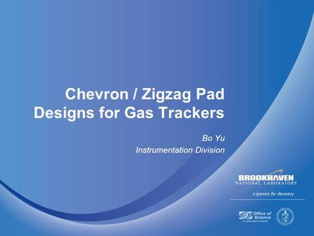 Chevron / Zigzag Pad Designs for Gas Trackers