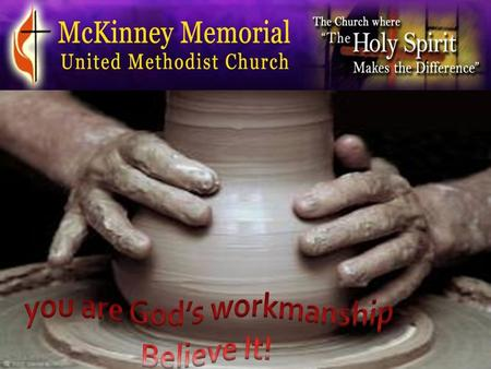 Dr. Janice Gilbert Senior Pastor For we are God's workmanship, created in Christ Jesus to do good works, which God prepared in advance for us to do.