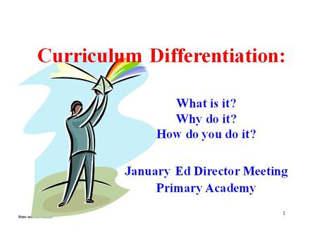A Quick Quiz What is your DI IQ? Discuss with peers… What do you know about differentiation? What concerns or fears do you have regarding differentiation?
