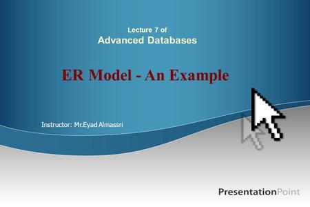 Lecture 7 of Advanced Databases