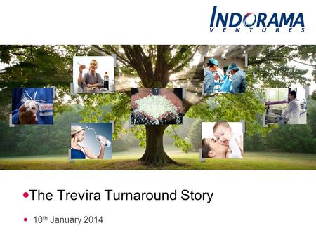 The Trevira Turnaround Story 10 th January 2014. Two German sites, two focused operations Successful restructuring, ongoing performance enhancement 2.
