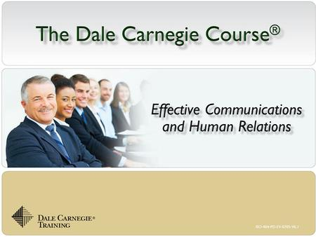 The Dale Carnegie Course®