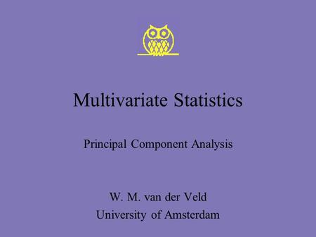 anderson multivariate statistical analysis pdf
