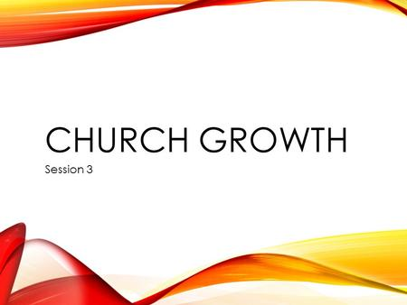 CHURCH GROWTH Session 3. CAFÉ CONNECT BOOK OF THE DAY The Road to Growth Bob Jackson Church House Publishing 2005.