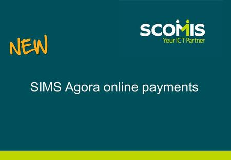 SIMS Agora online payments. Helping the whole school community.