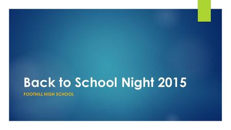 Back to School Night 2015 FOOTHILL HIGH SCHOOL. Ms. Ochoa-Lionetti Classes  Period 1 Geometry  Period 3 Geometry  Period 4 Math 4  Period 5 Math 2.