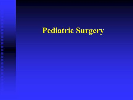 Pediatric Surgery. Question 1? Why do Pediatric Surgeons always make such a big deal out of a little yellow or green emesis?