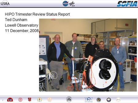 1 HIPO Trimester Review Status Report Ted Dunham Lowell Observatory 11 December, 2008.
