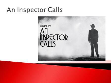 An Inspector Calls. WILF  Insightful exploratory response to task  Insightful exploratory response to text  Close analysis of detail to support interpretation.