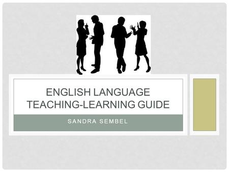 ENGLISH language Teaching-learning guide
