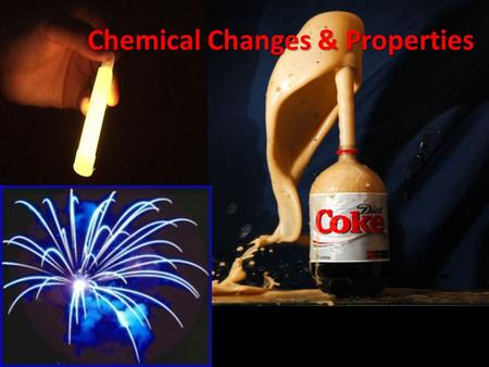 Chemical Changes & Properties. Chemical Change Demo Color Temperature PrecipitateGas Created 1 2 3 4 5 6 7 8 9 Chemical Properties Changed Create this.