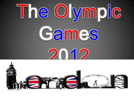 What is it about..? Hey there ! As you coud guess, this diaporama is about the 2012 Olympic Games. I am going to present you different much expected athletes,
