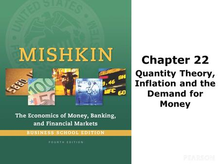 Chapter 22 Quantity Theory, Inflation and the Demand for Money.