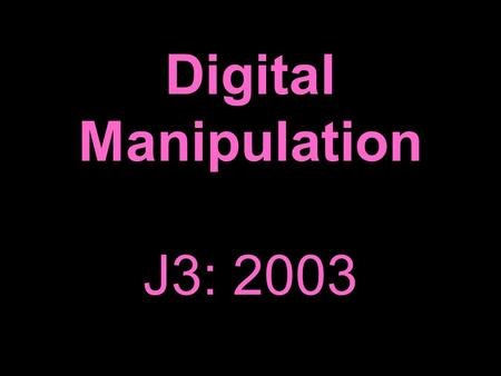 the ethics of digital manipulation The advent of computers and digital photography has not created the need for a  whole new set of ethical  this fact makes dealing with computer related ethics  far less daunting than if we had to begin from square one  digital  manipulation.