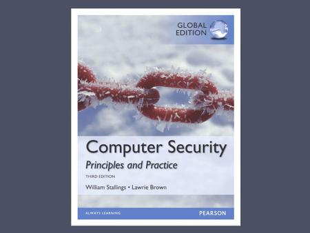 Chapter 1 Overview The NIST Computer Security Handbook defines the term Computer Security as: