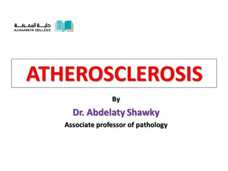 Associate professor of pathology