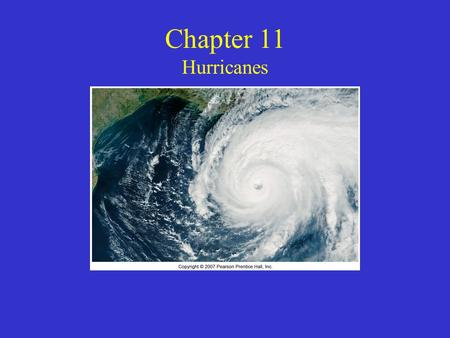 Chapter 11 Hurricanes. Hurricane Katrina Flooded 80% of New Orleans The US's deadliest hurricane in terms of deaths happened in 1900 in Galveston, Tx.