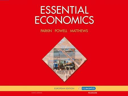 1 APPENDIX Graphs in Economics © Pearson Education 2012 After studying this chapter you will be able to  Make and interpret a scatter diagram  Identify.