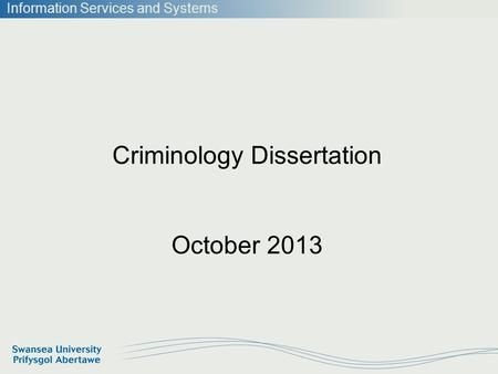 Dissertation On Operational Effectiveness