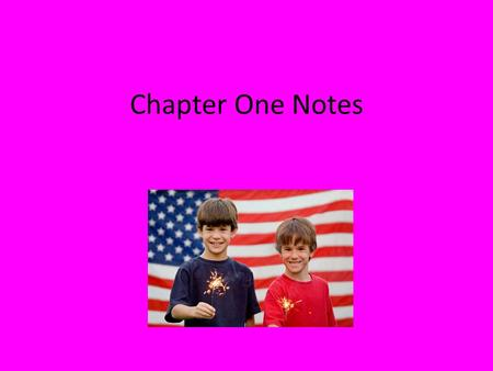 Chapter One Notes. Section 1: Govt of the People, by the People, for the People -Democratic governments perform necessary functions so citizens can live.