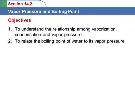 vapour pressure and boiling point relationship tips